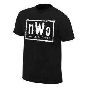 New World Order T-Shirt nWo Logo WCW Retro
